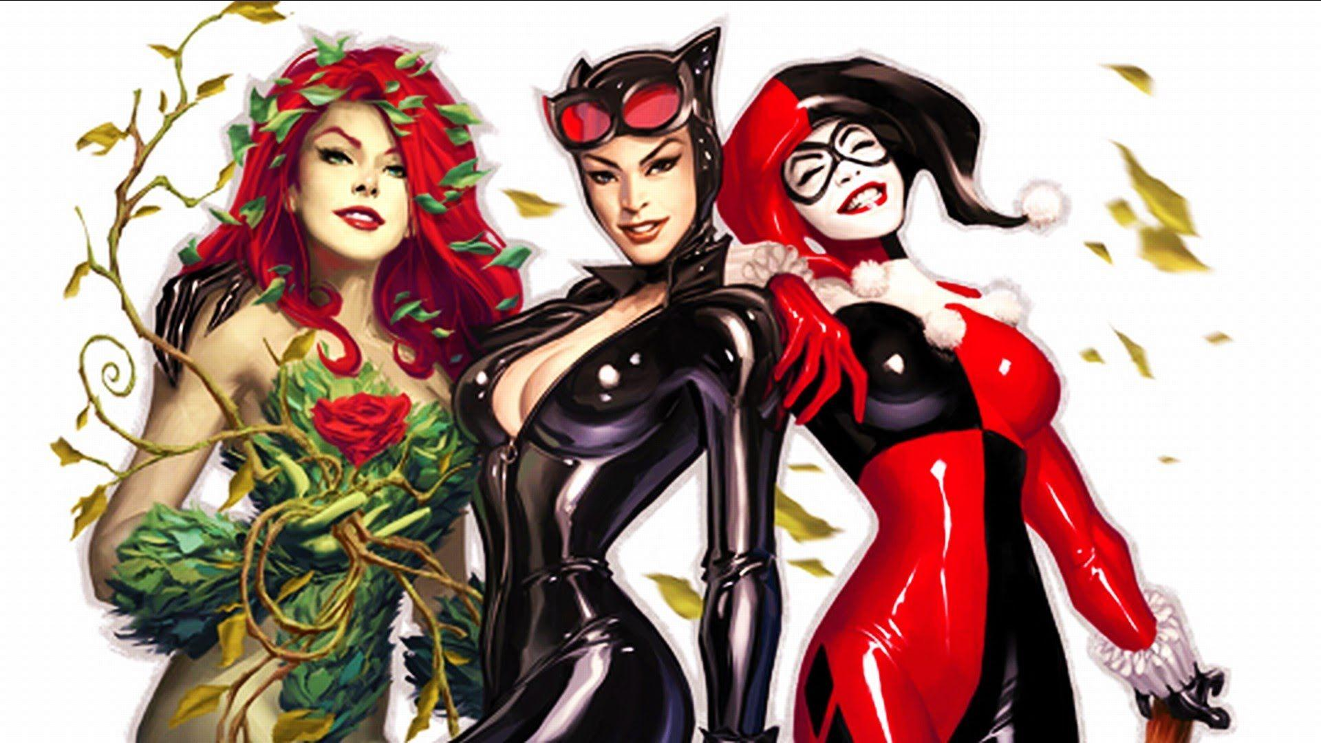 DC Superhero Girls images Gotham City Sirens HD wallpaper and .