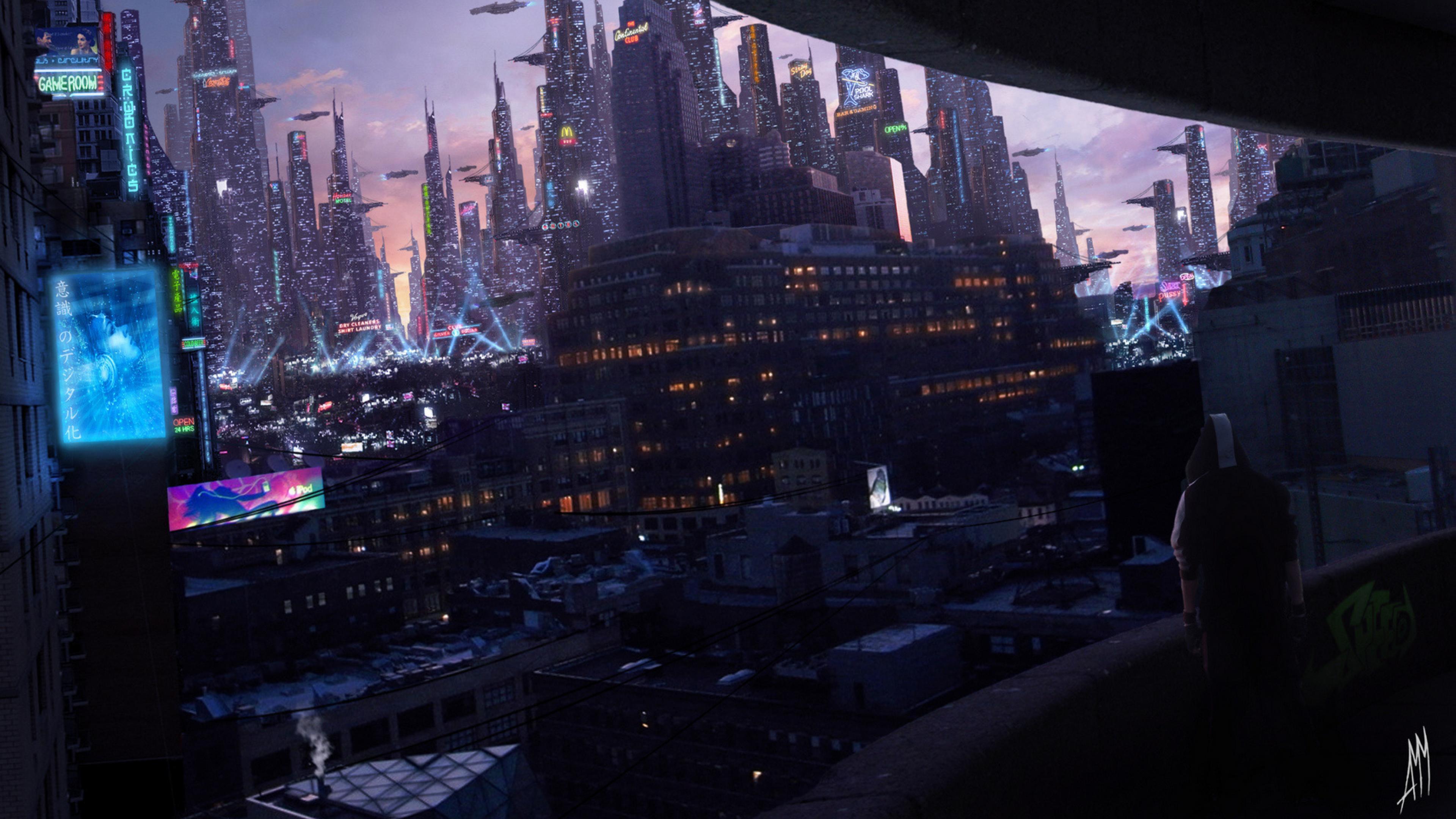 Cyberpunk City Wallpapers - Wallpaper Cave