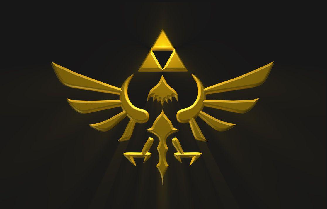 Legend Of Zelda Hyrule Crest Wallpapers Wallpaper Cave