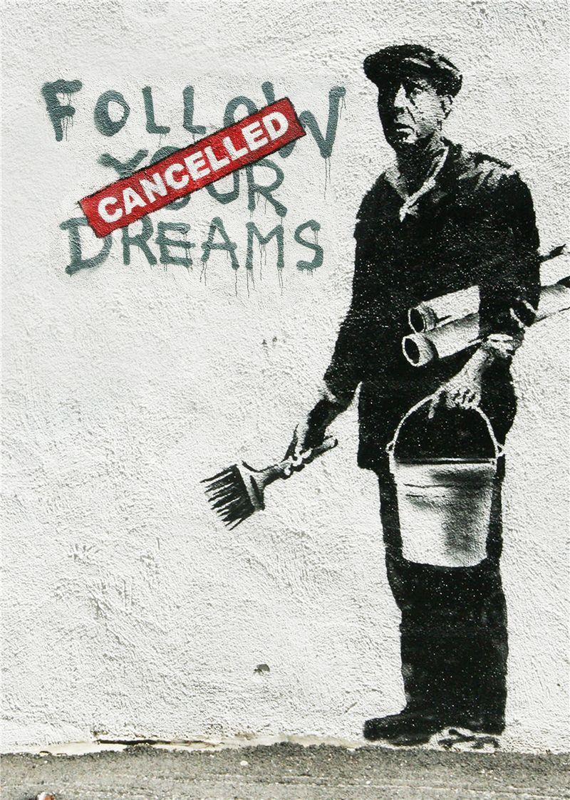 ユニーク Banksy Wallpaper Phone イライラする