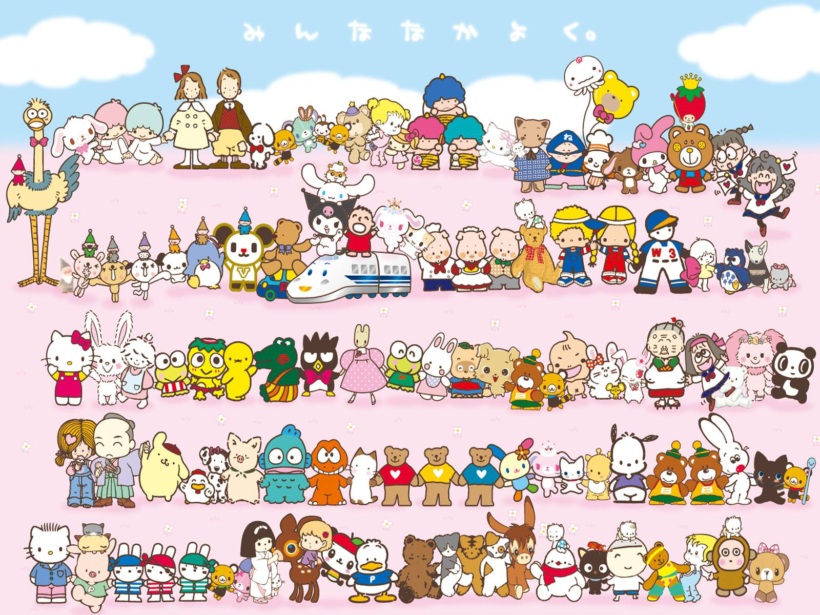 Hello Kitty Wallpapers Character Wallpaper Cave