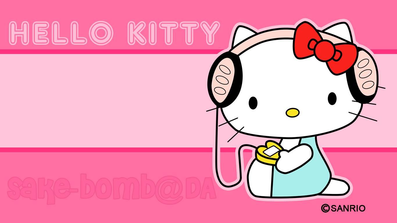Hello Kitty Pink Wallpapers Desktop Wallpaper Cave