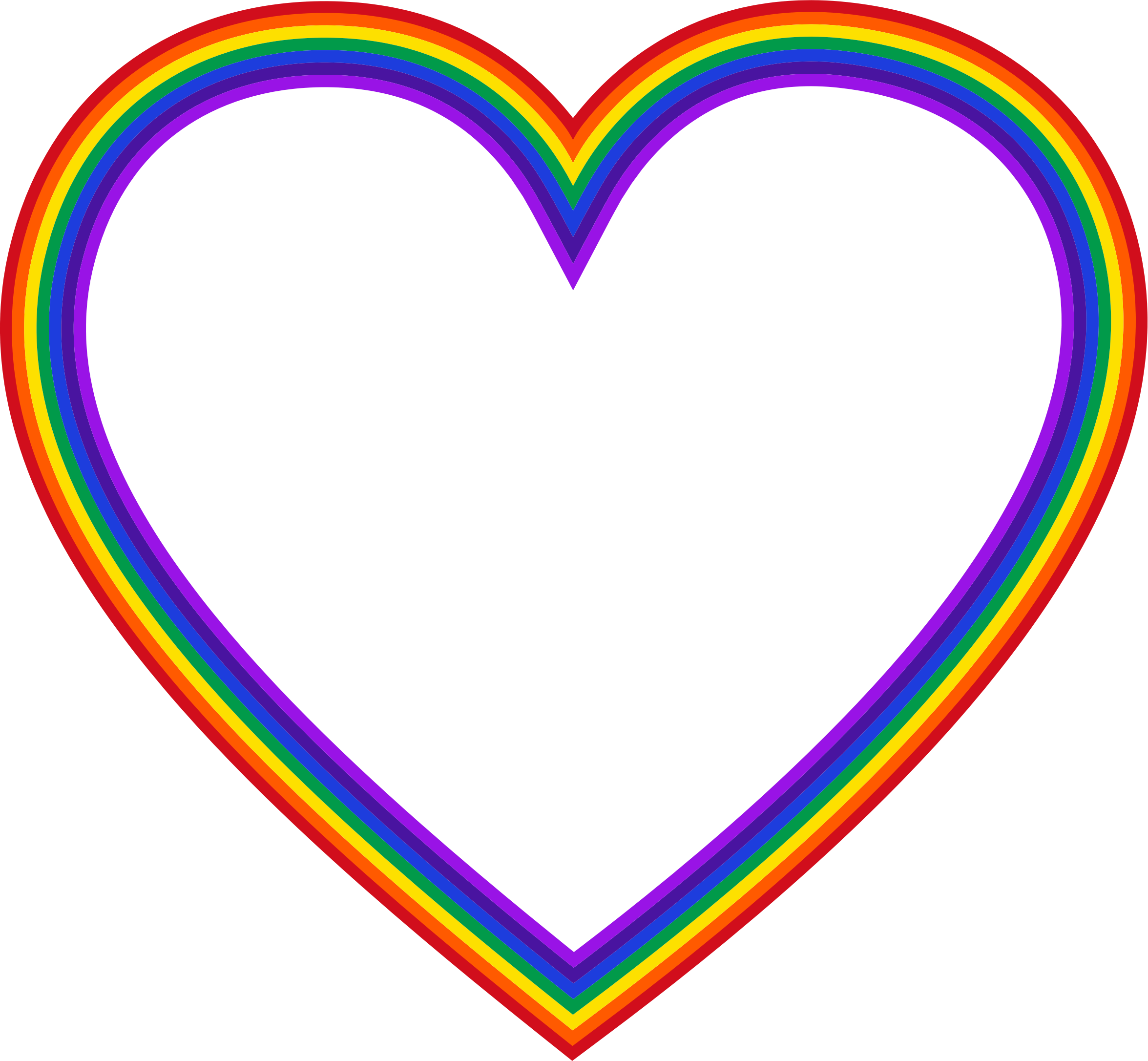 Rainbow Heart Backgrounds - Wallpaper Cave