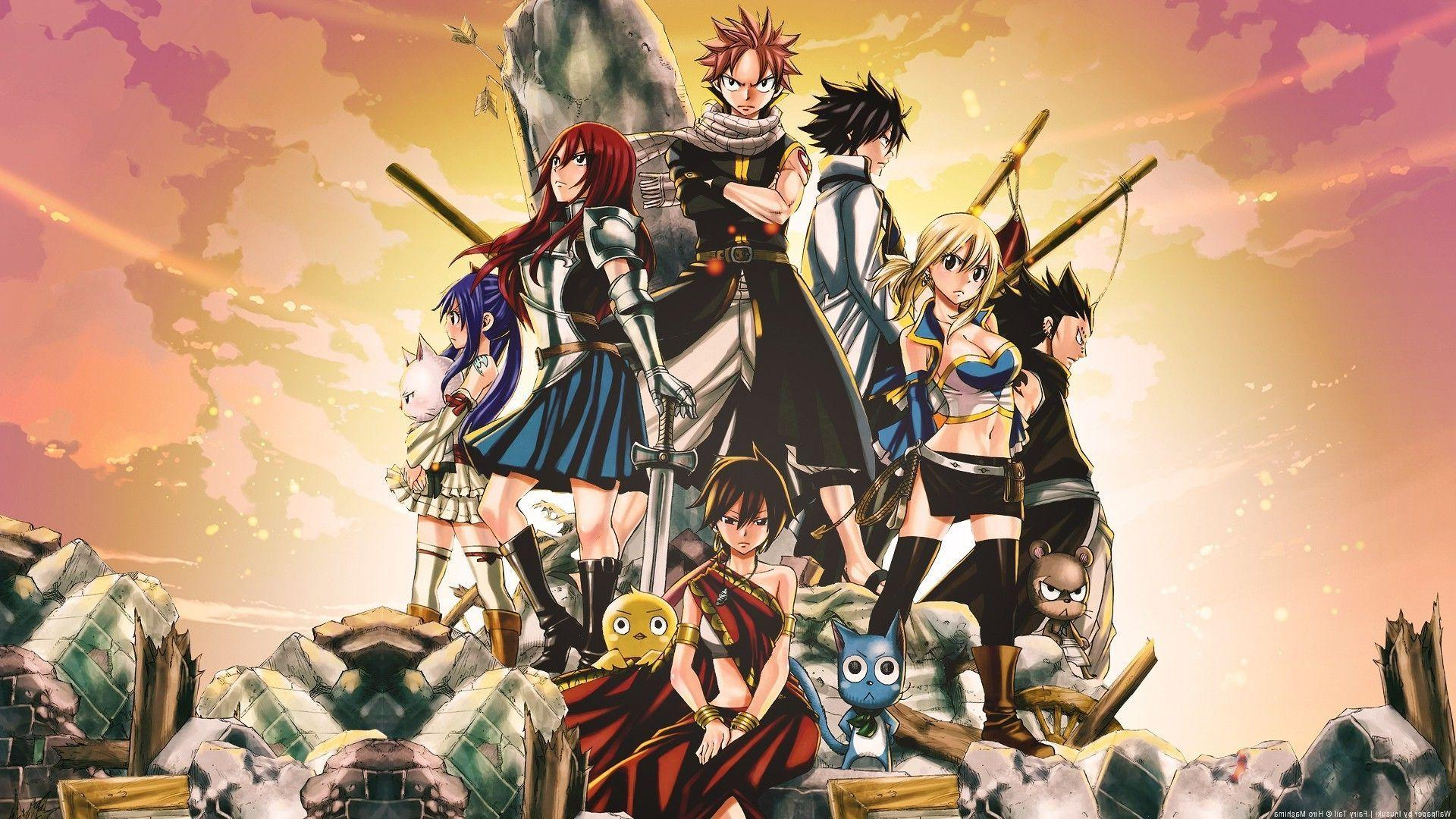 High Quality Fairy Tail Wallpapers Wallpaper Cave