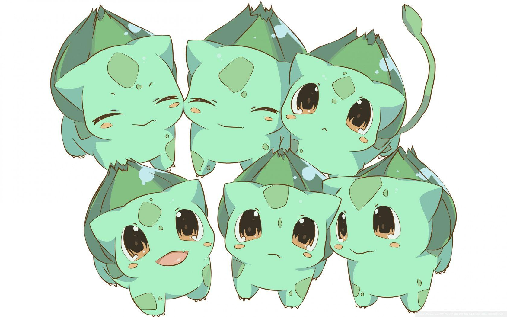 Bulbasaur Pokemon ❤ 4K HD Desktop Wallpaper for • Wide & Ultra ...