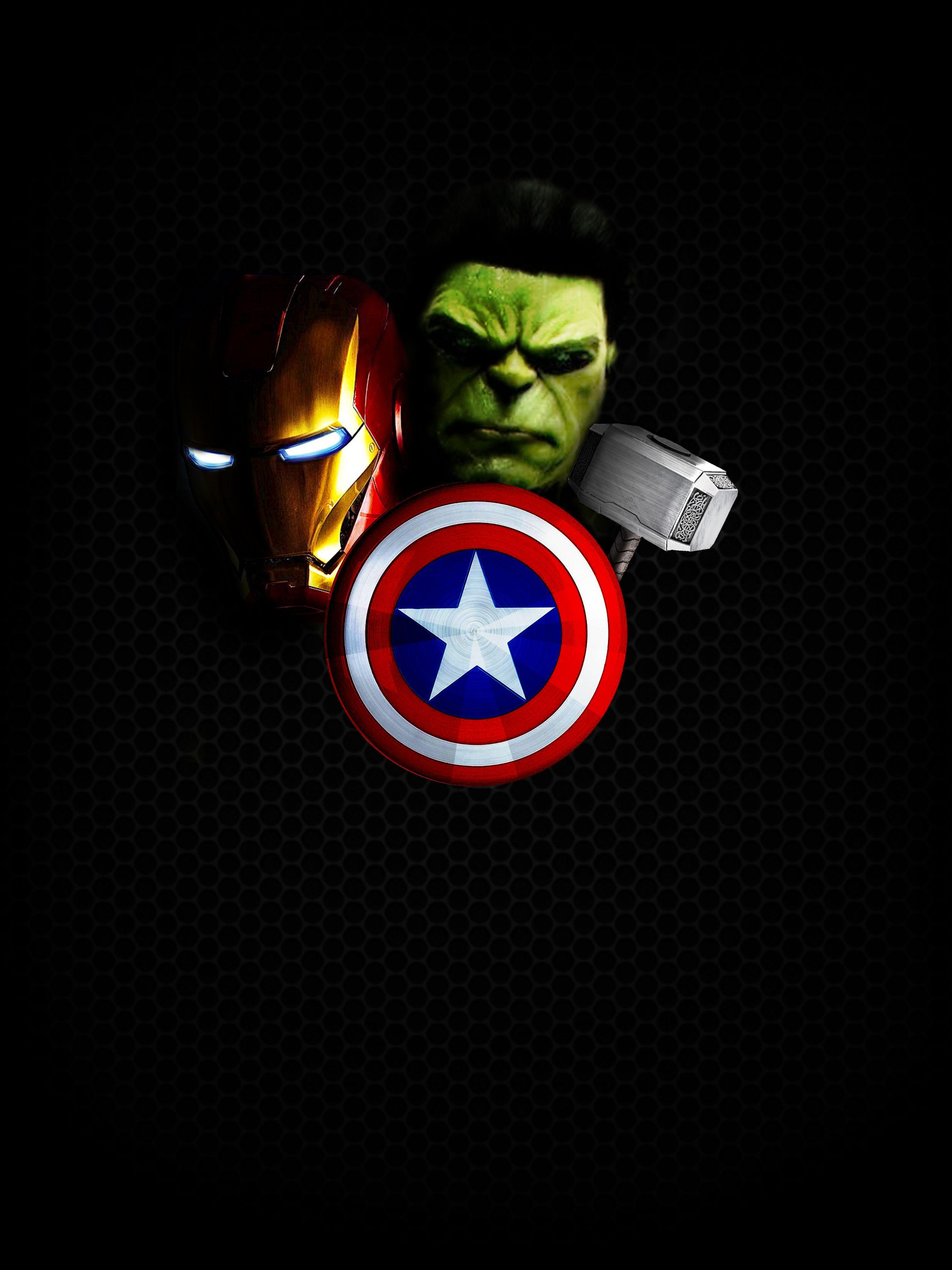 Avengers Wallpapers Logo Wallpaper Cave