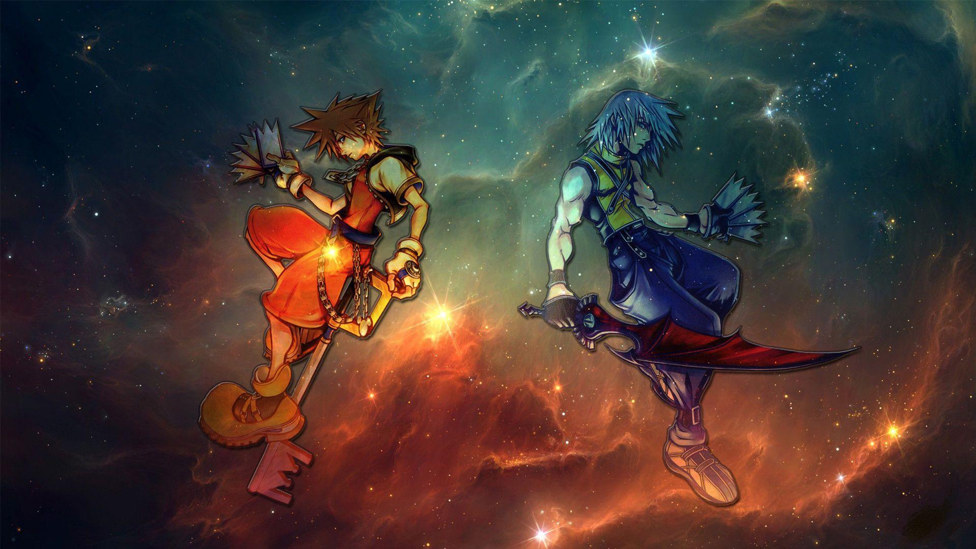 1080p Kingdom Hearts Roxas Wallpaper Anime Wallpapers