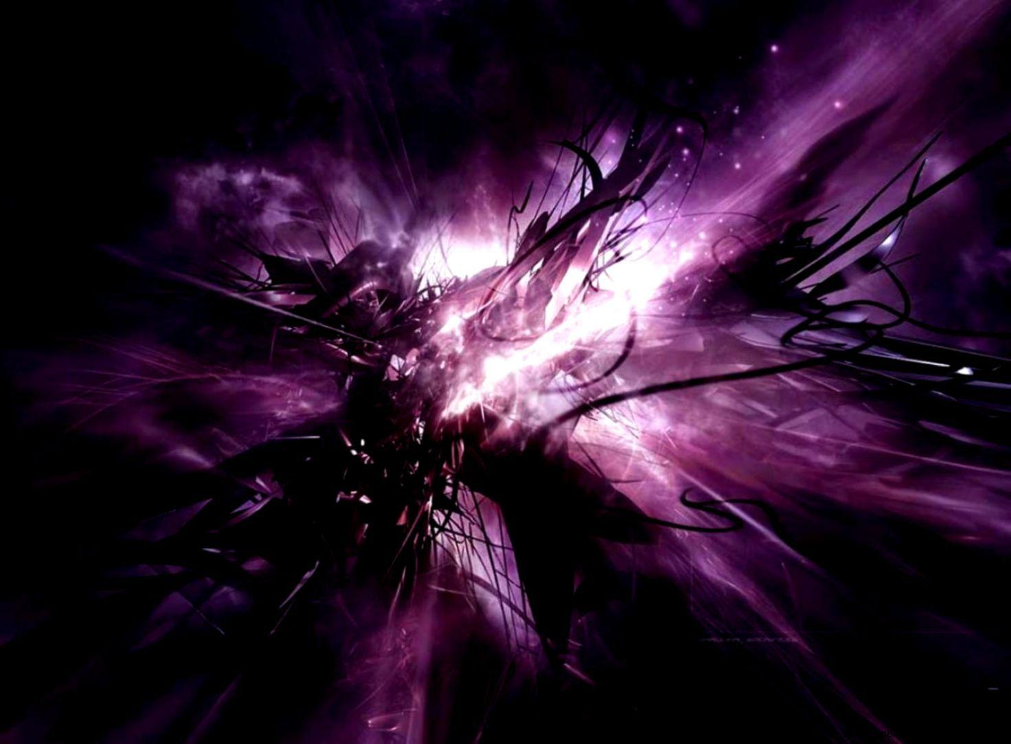 Black And Purple Abstract Wallpapers Wallpaper Cave