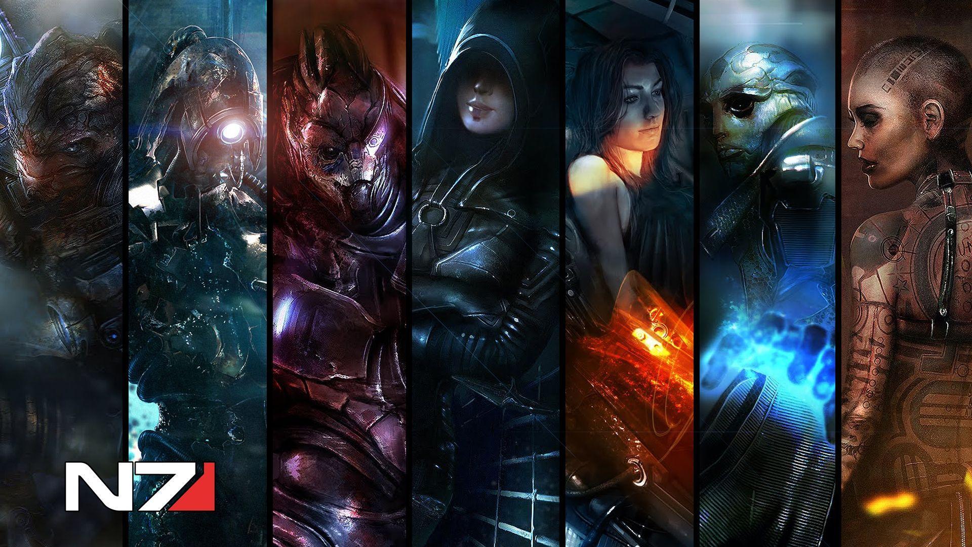 Mass Effect 1080p Wallpapers - Wallpaper Cave