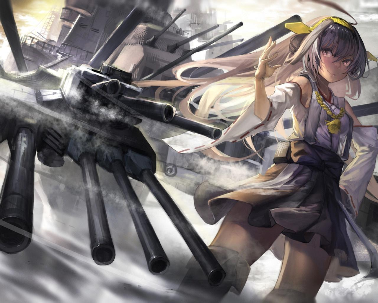 Wallpaper War Girl Anime  Anime Manga Japan Cartoons