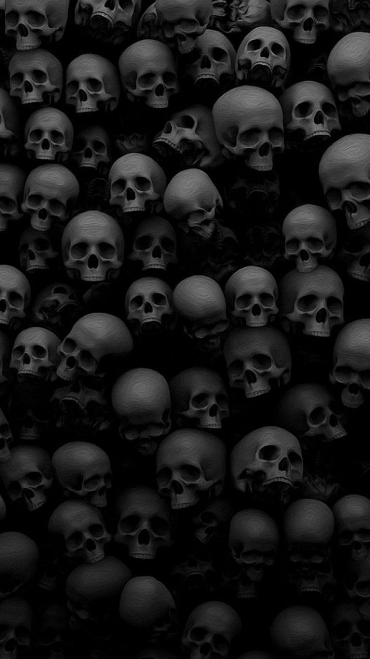 Skull Wallpaper For Iphone Group 67
