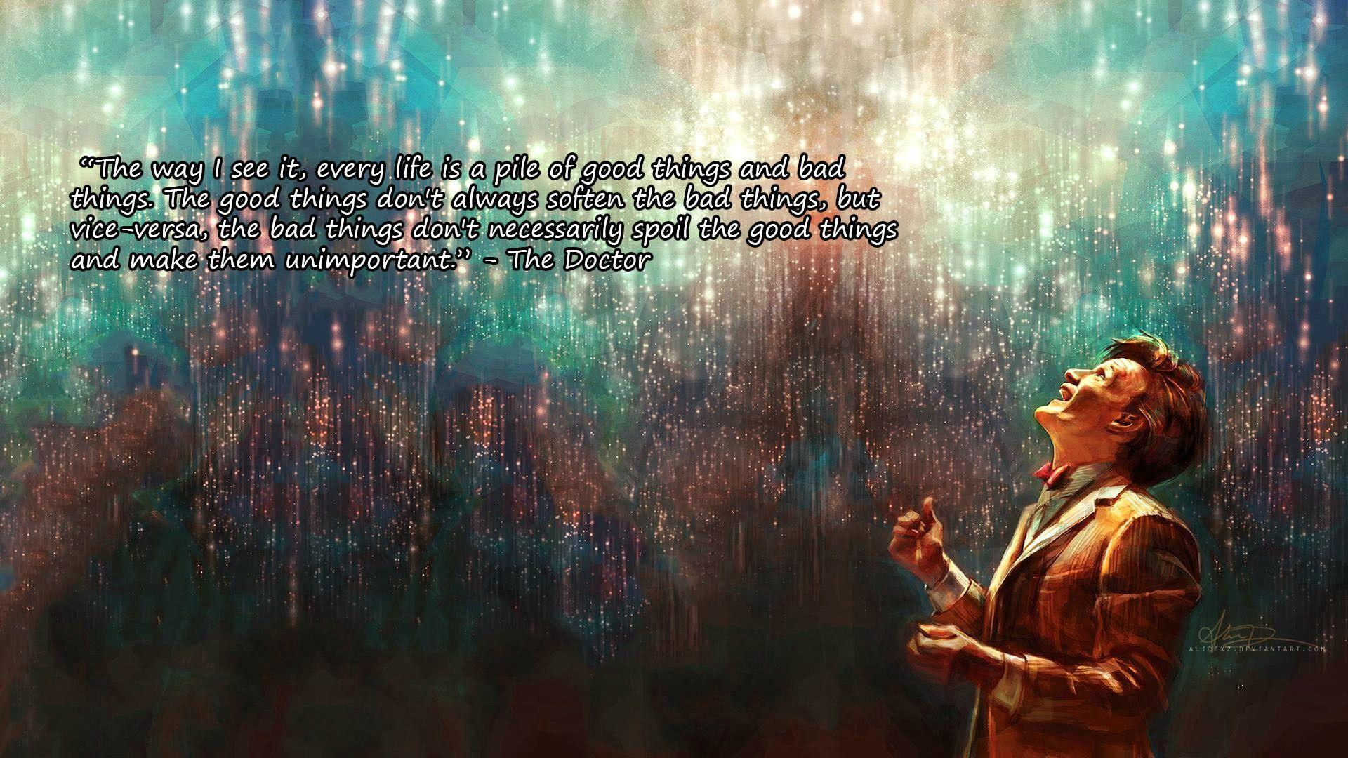 Doctor Who Quote Wallpapers - Wallpaper Cave