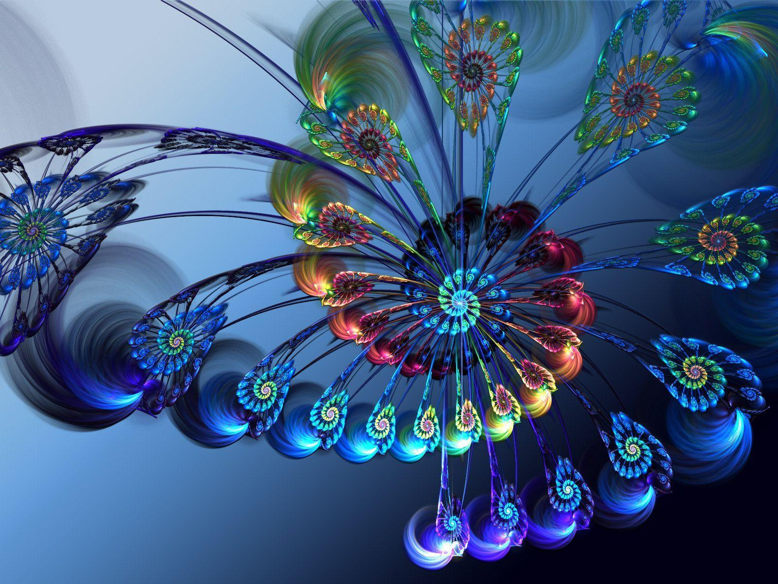 3d Peacock Feather Wallpapers Wallpaper Cave