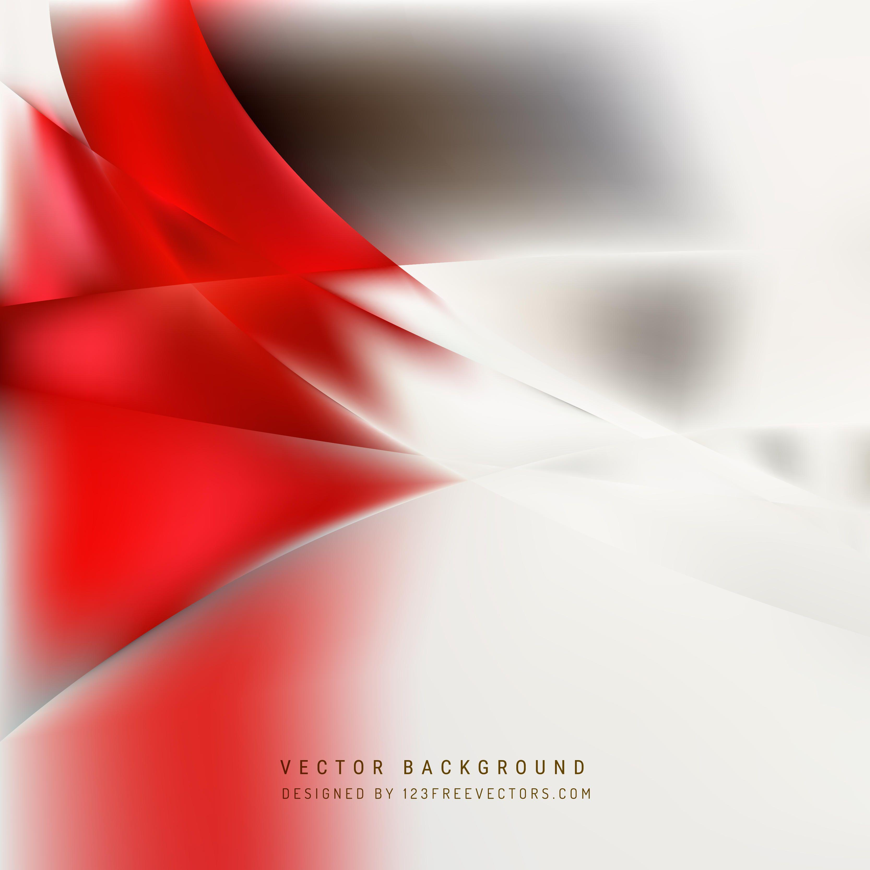 Red And White Abstract Backgrounds HD