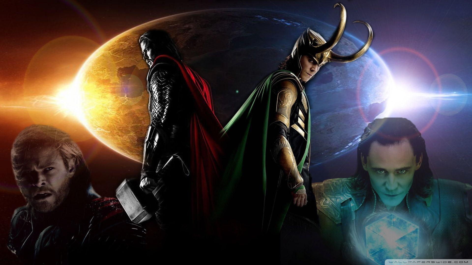Thor Loki Wallpapers Wallpaper Cave