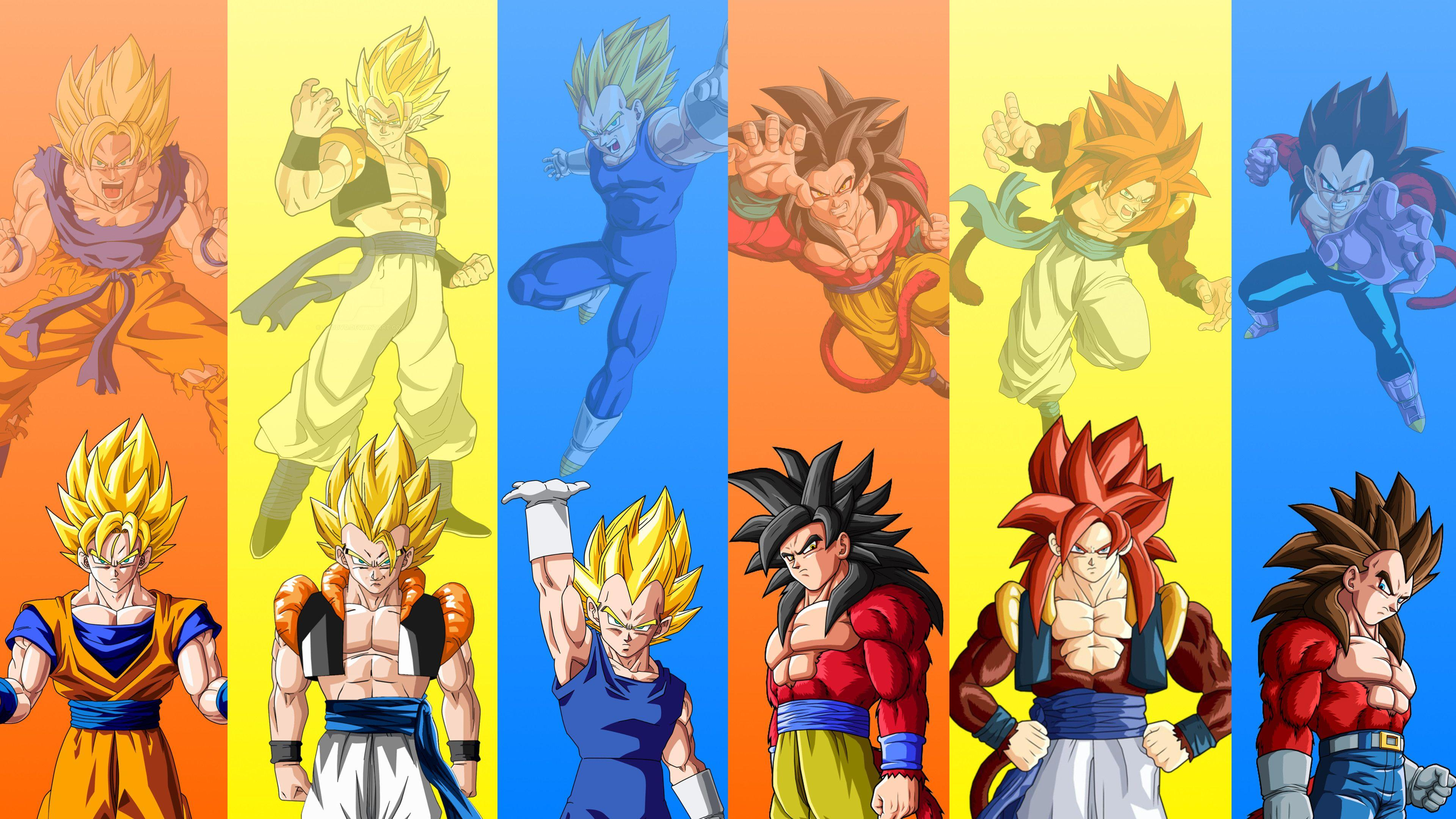 Wallpapers Gogeta Ssj4 Wallpaper Cave