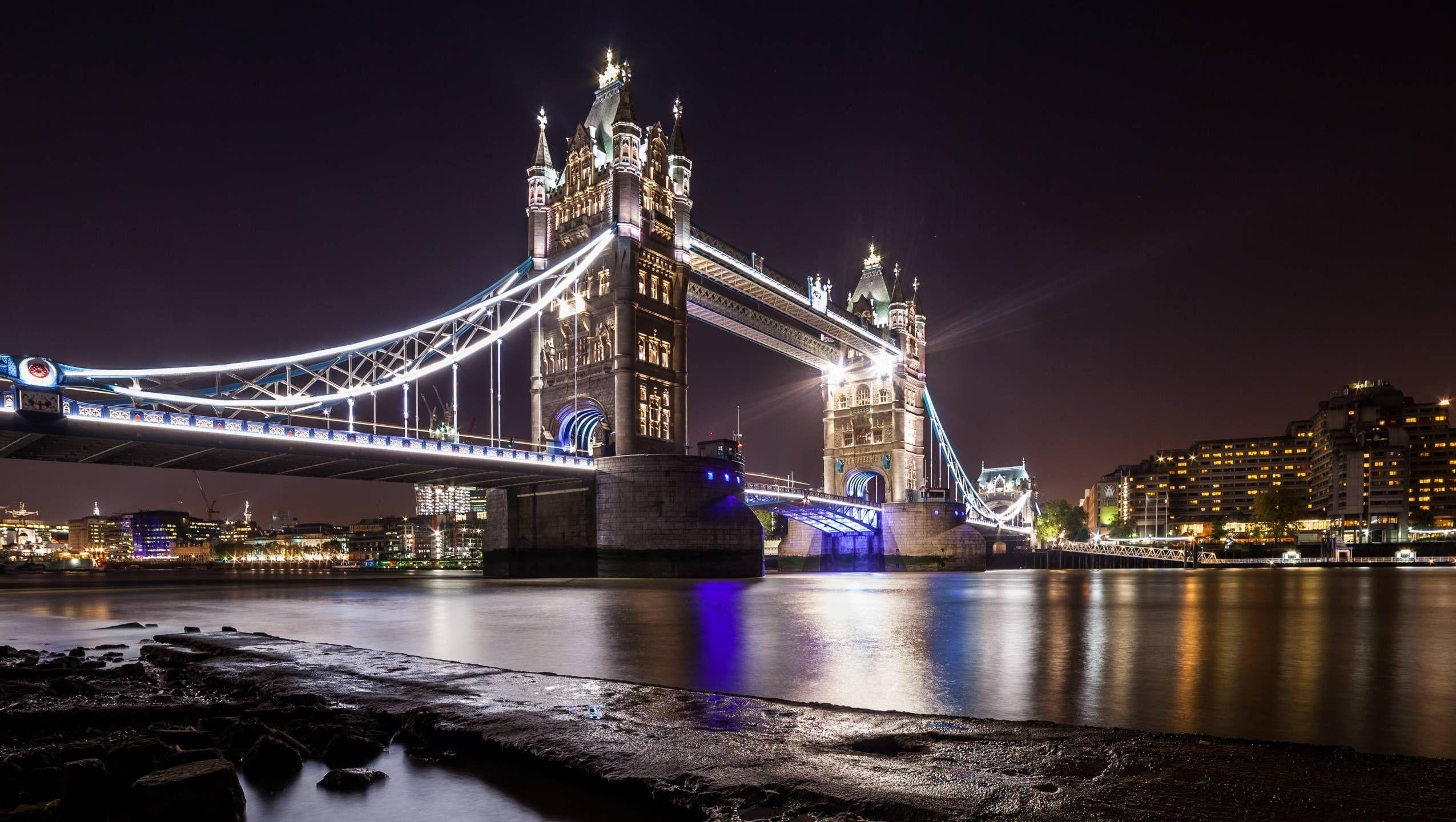 Tower on Bridge HD Wallpapers 1024×576 Bridge Pictures Wallpapers ...