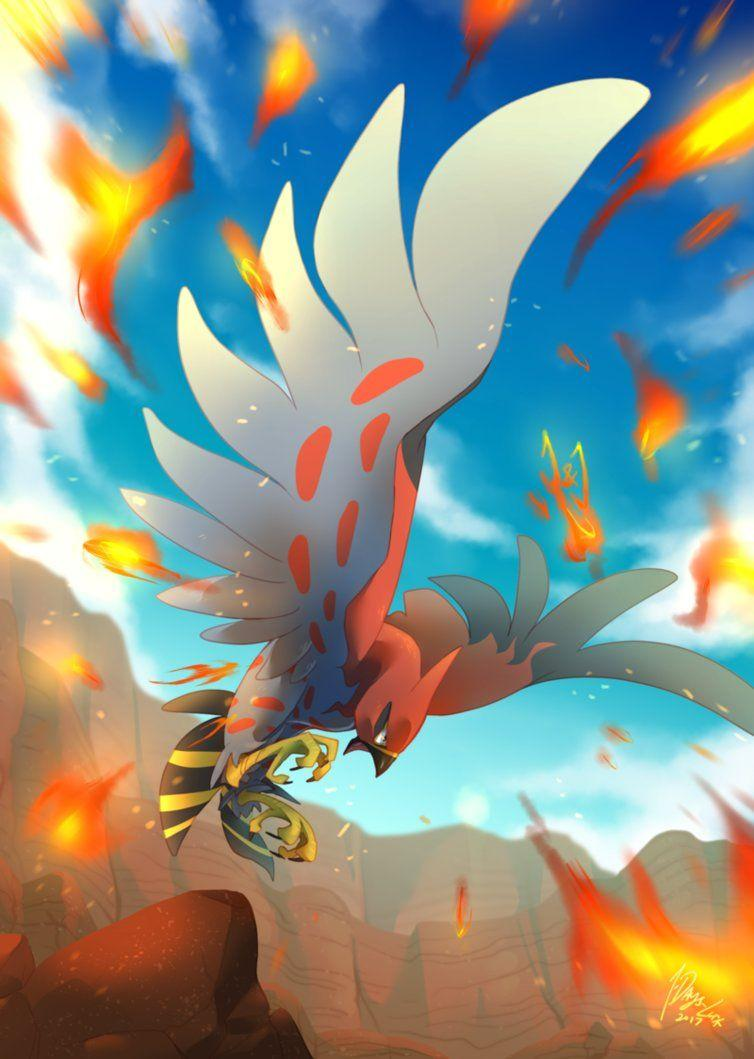 Commission by Jota: Talonflame's Glory by 7