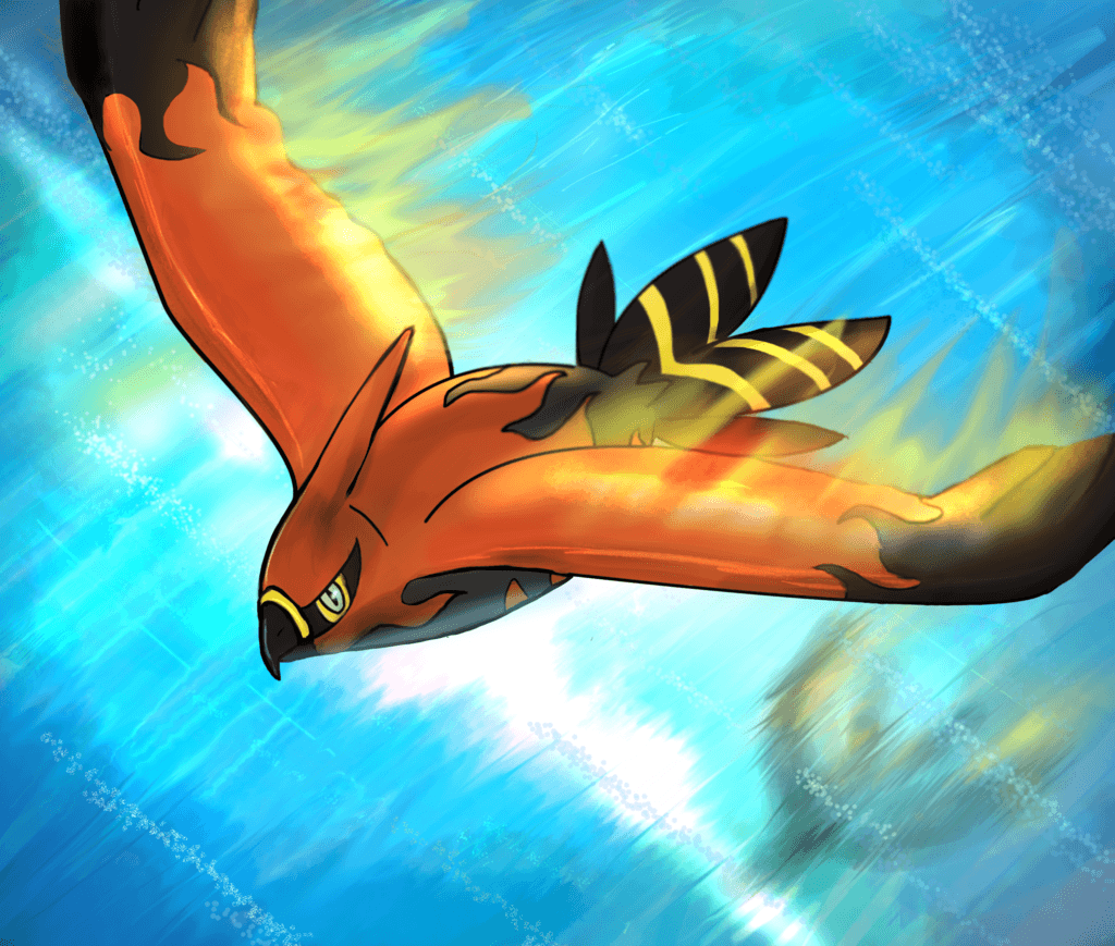 Talonflame by Titanium