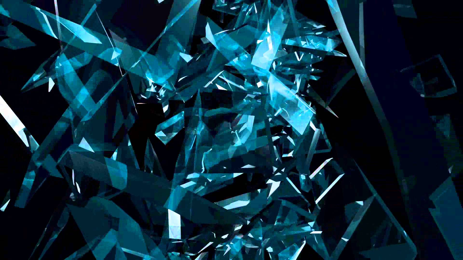 Blue Shards Wallpapers Wallpaper Cave