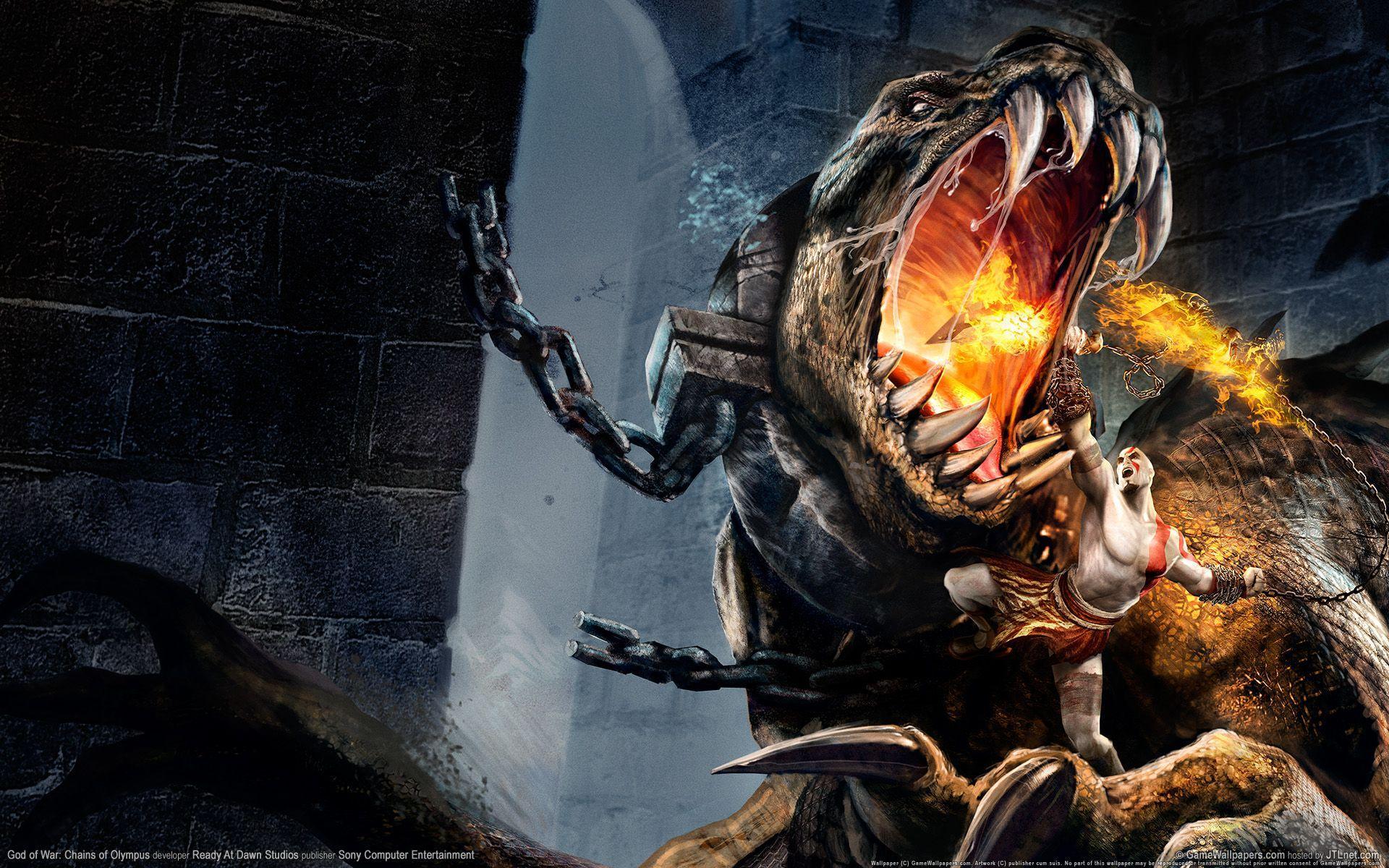 God Of War Wallpapers Hd Monster Wallpaper Cave