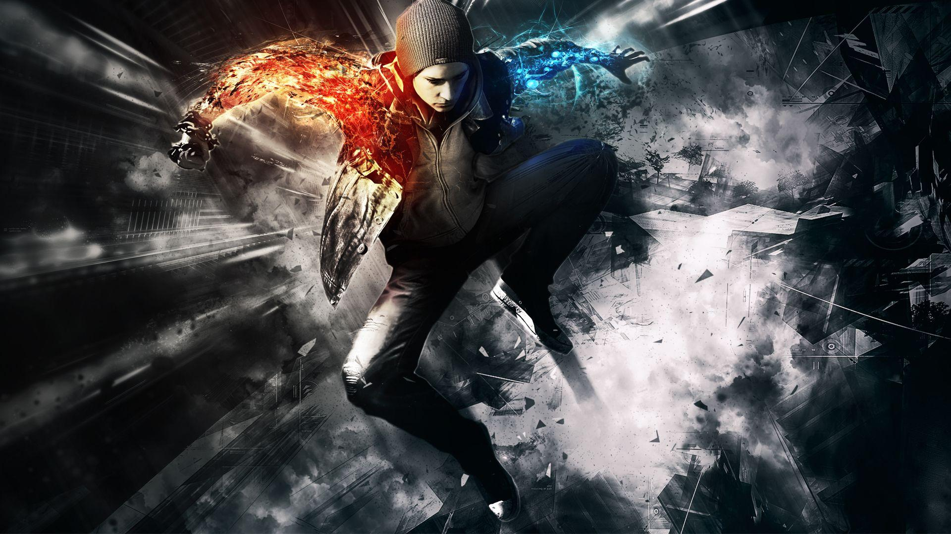 Infamous Second Son Wallpapers Smok HD Wallpaper, Backgrounds Image