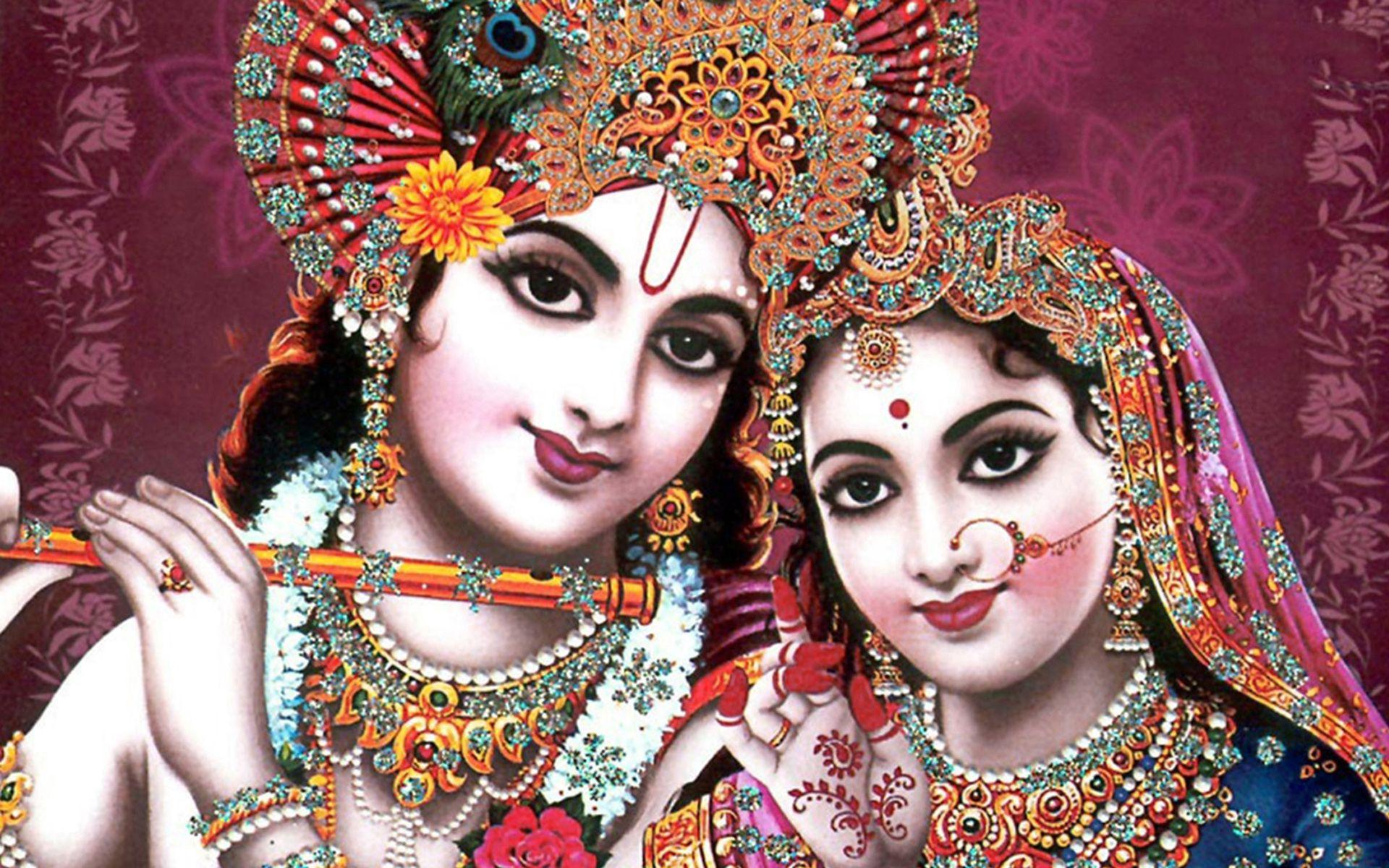 Krishna and Radha Full HD Wallpapers and Backgrounds Image