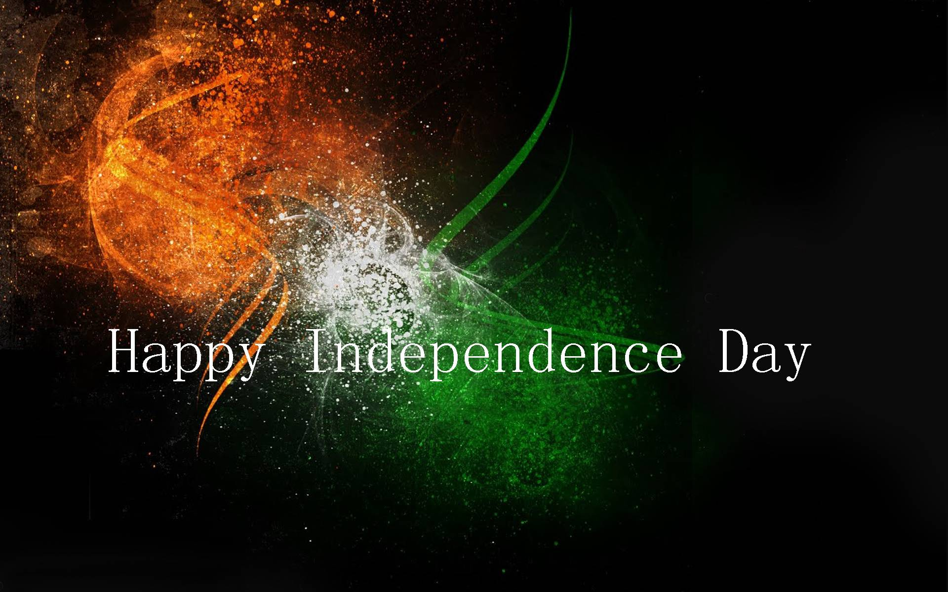 Indian Independence Day Flag Full Screen Desktop Wallpapers