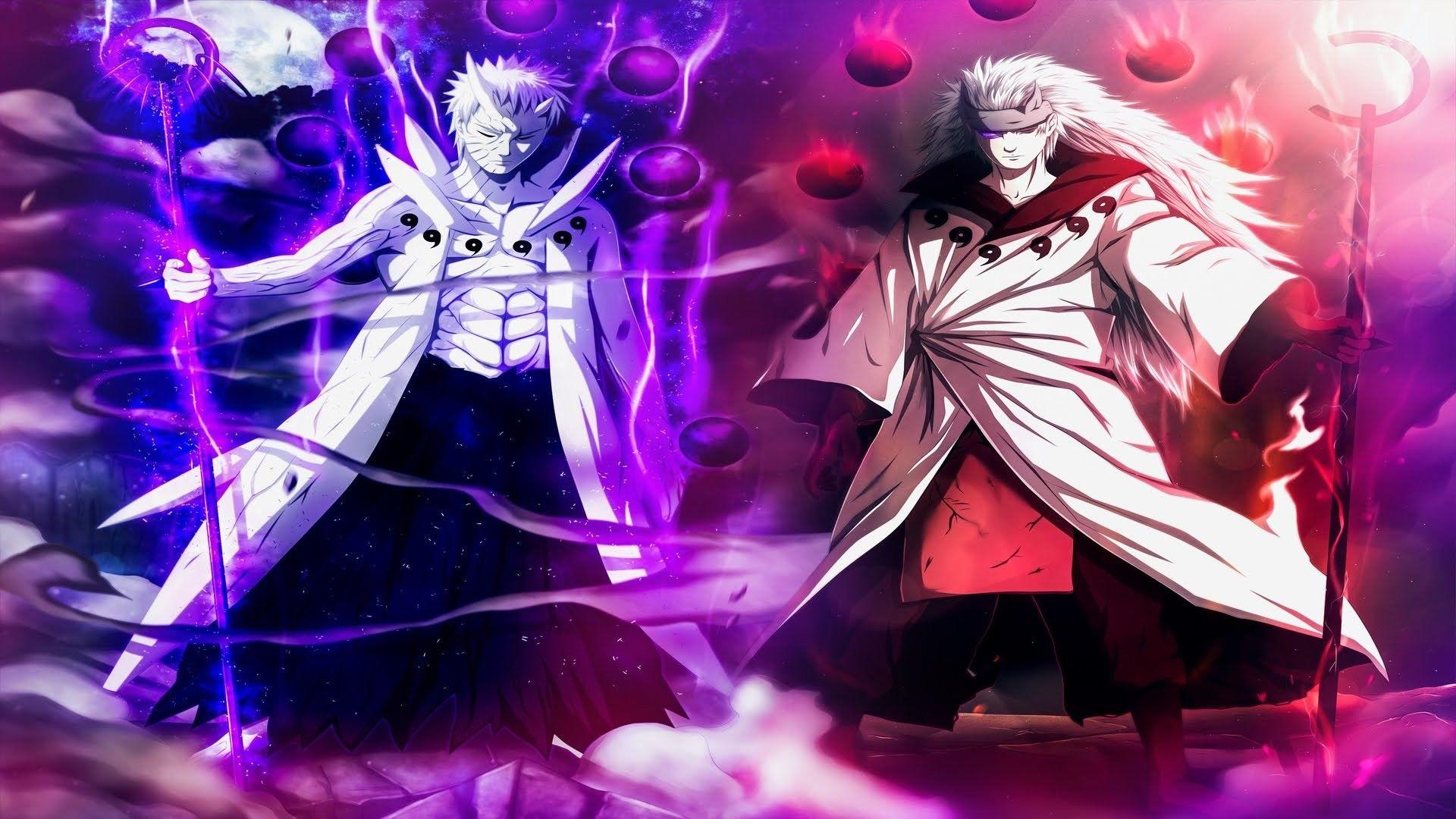 Obito And Madara Hd Wallpapers Wallpaper Cave All of the madara wallpapers bellow have a minimum hd resolution (or 1920x1080 for the tech guys) and are easily downloadable by clicking the image here are some of our latest madara wallpapers. obito and madara hd wallpapers