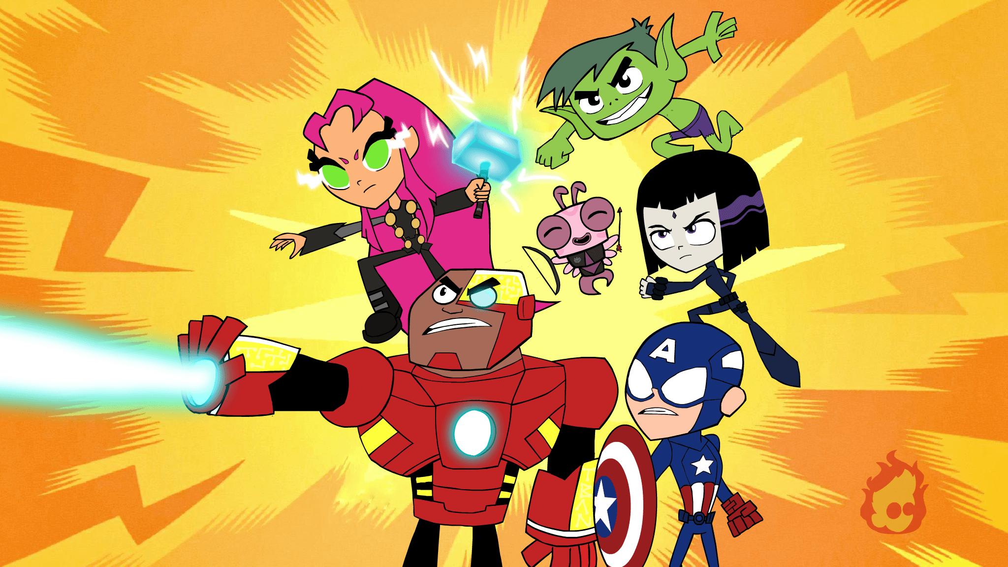 Teen Titans Go! Teams Background 6