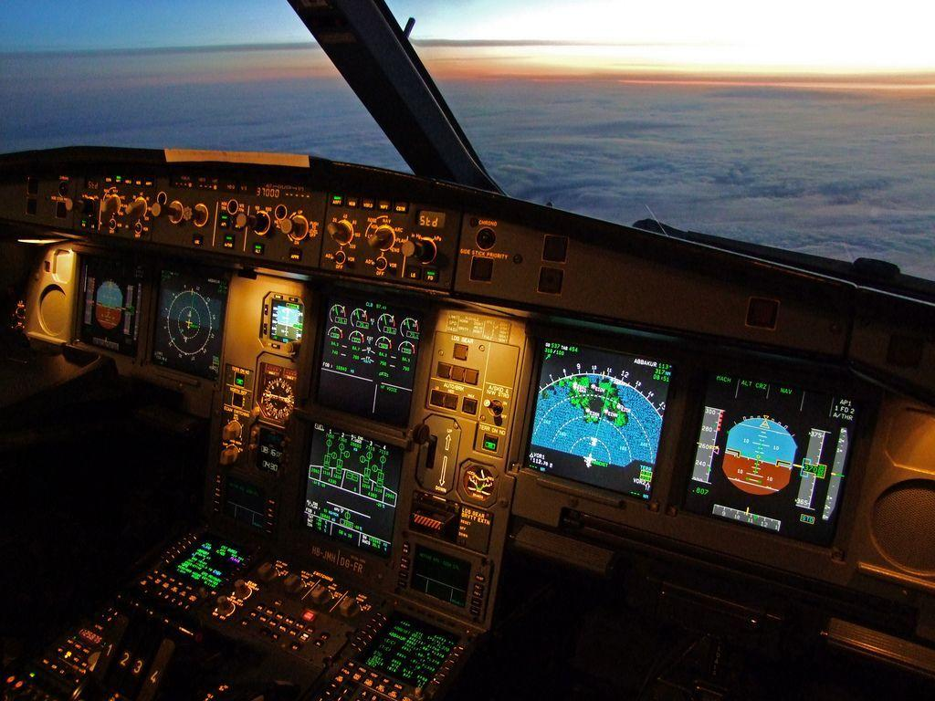 A340 Cockpit Wallpapers - Wallpaper Cave