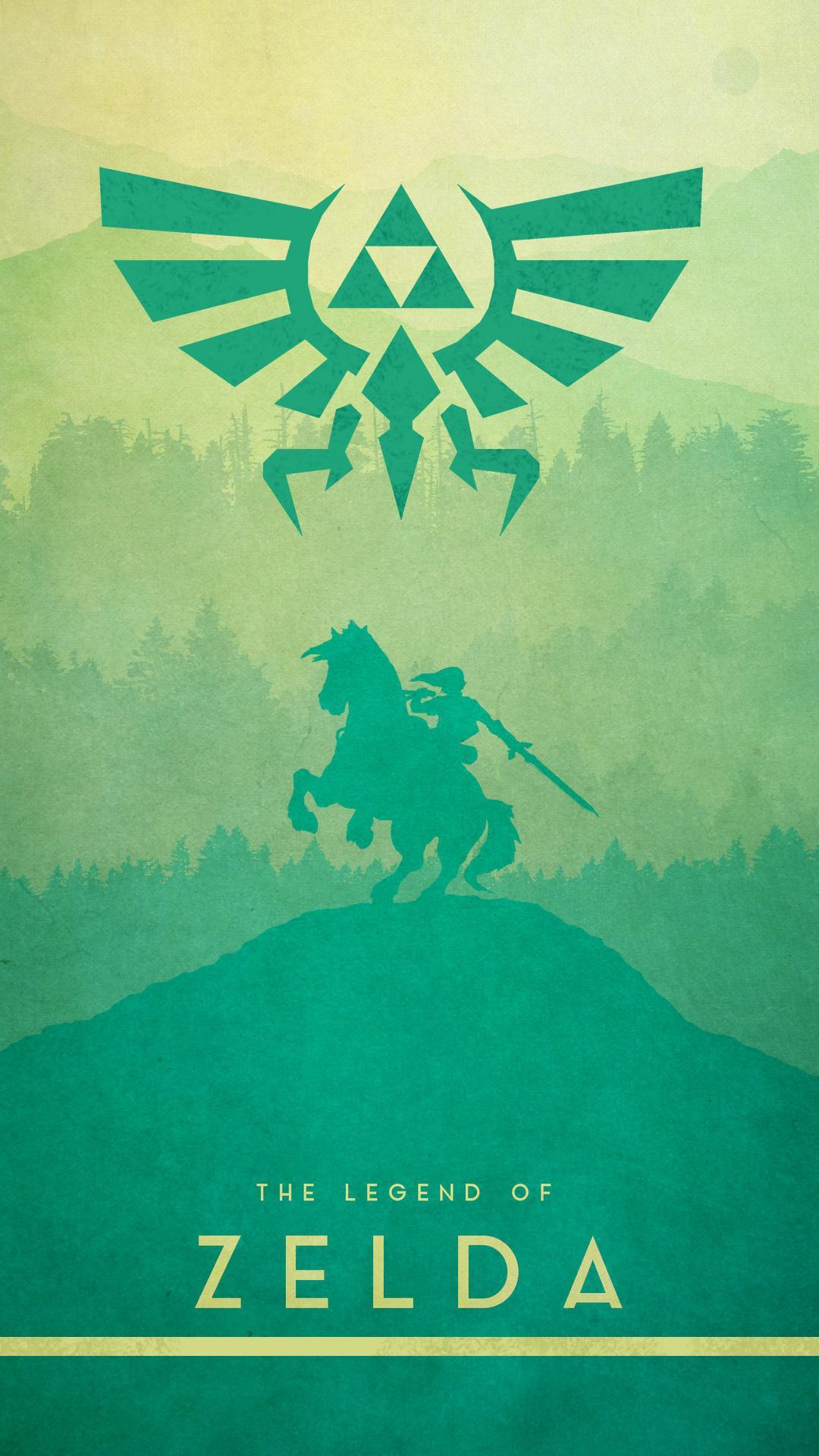 Zelda Mobile Wallpapers Wallpaper Cave