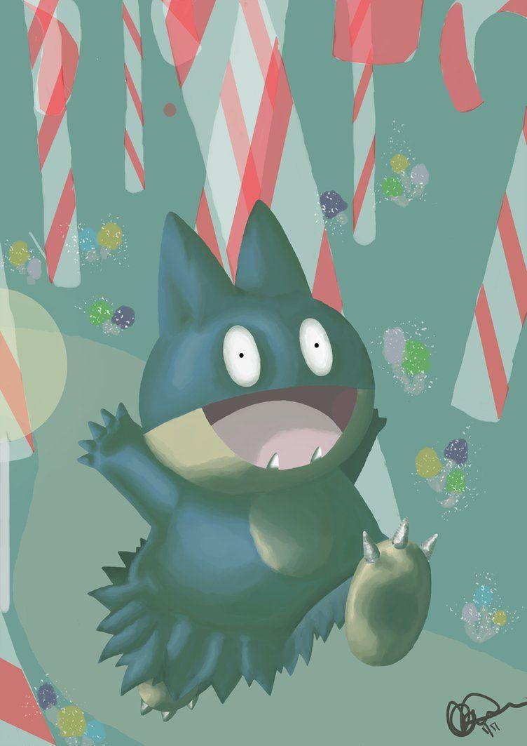 Munchlax - In a Dream by SimplyAddictive on DeviantArt