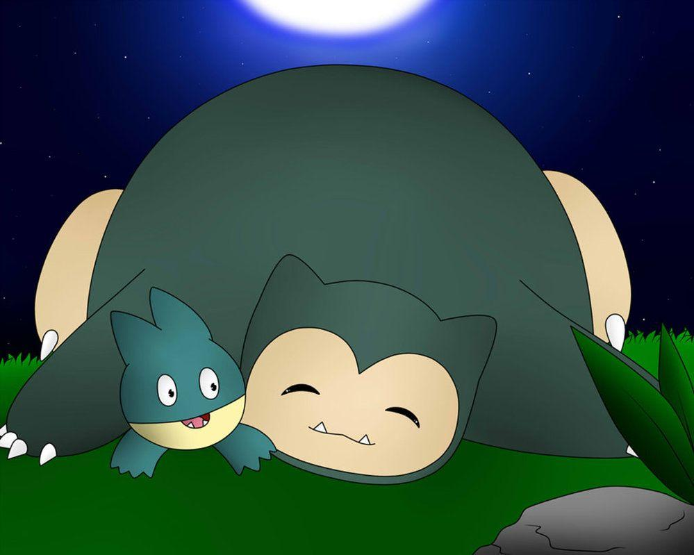 Snorlax And Munchlax by DarkrexS on DeviantArt