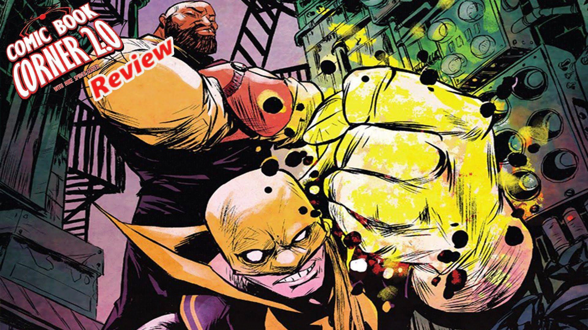 power man and iron fist comic - HD1920×1080