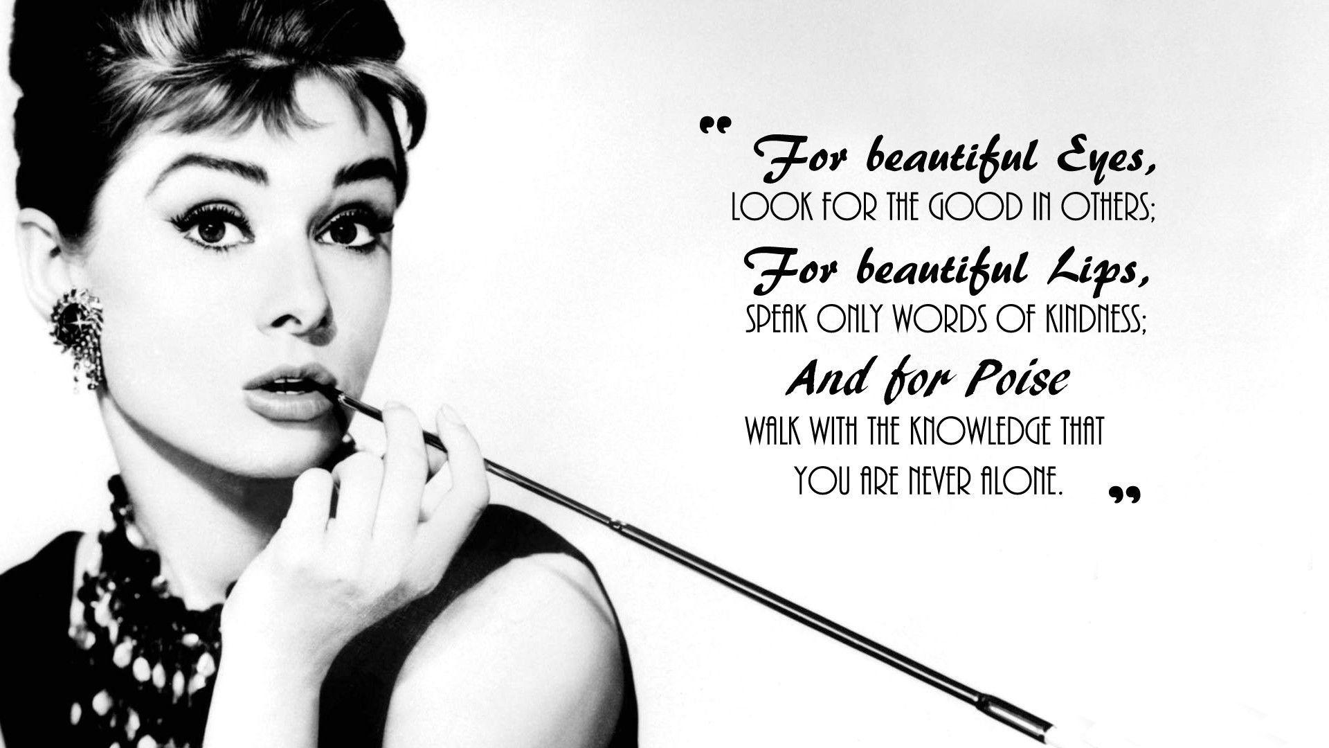 45 Audrey Hepburn HD Wallpapers | Background Images - Wallpaper Abyss