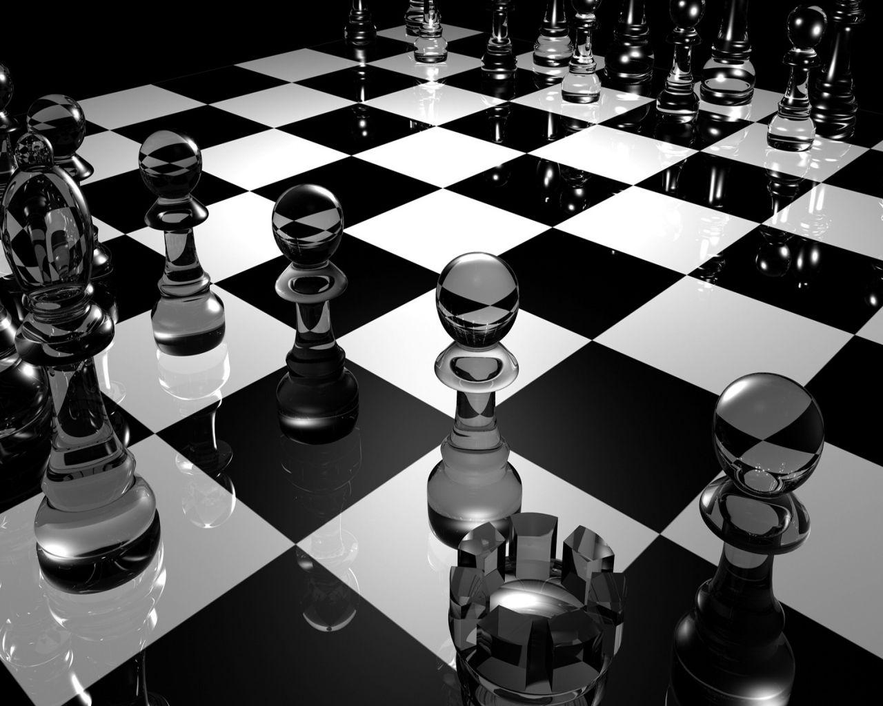 chess wallpapers black and white