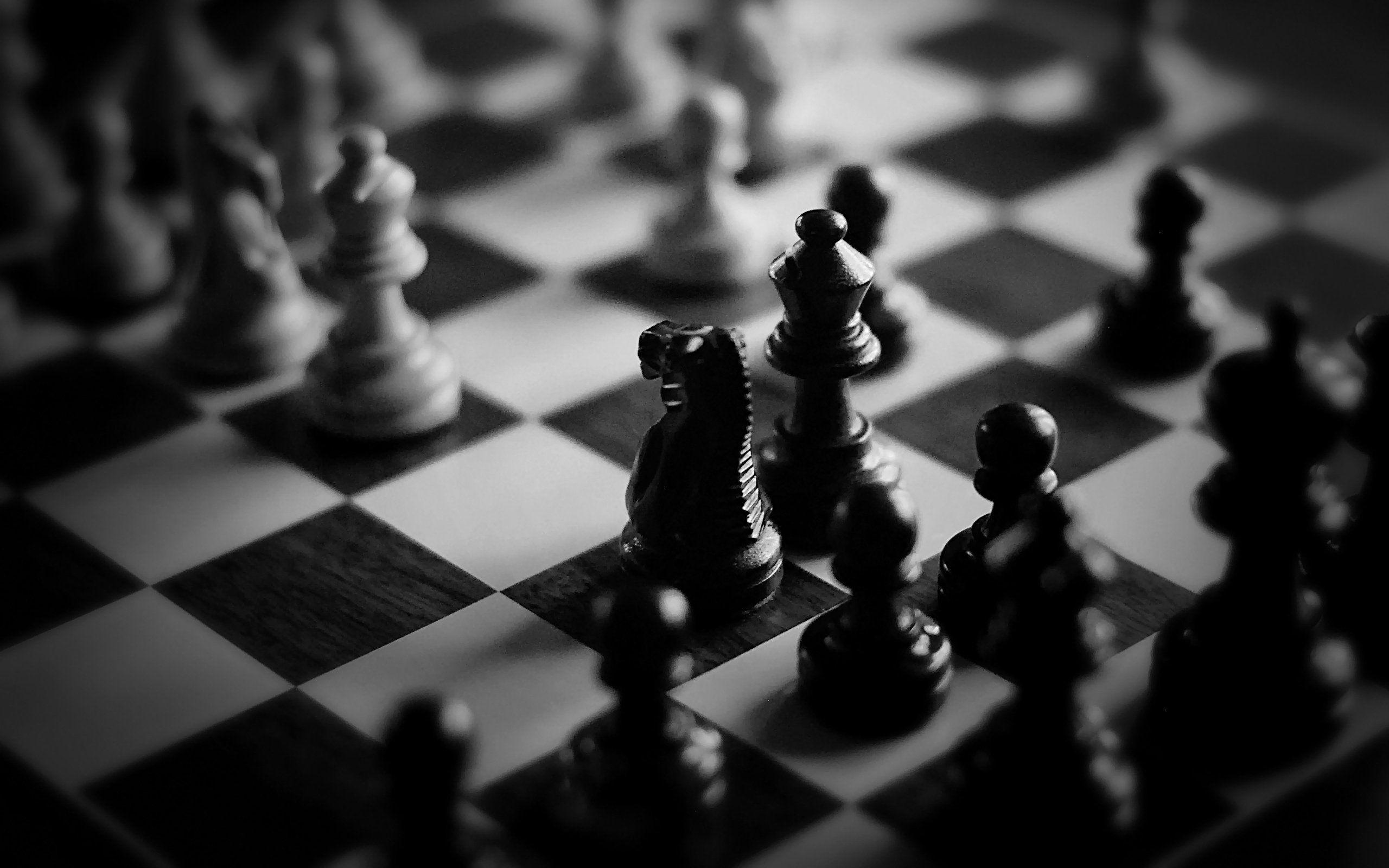 Chess Wallpapers Black And White Wallpaper Cave
