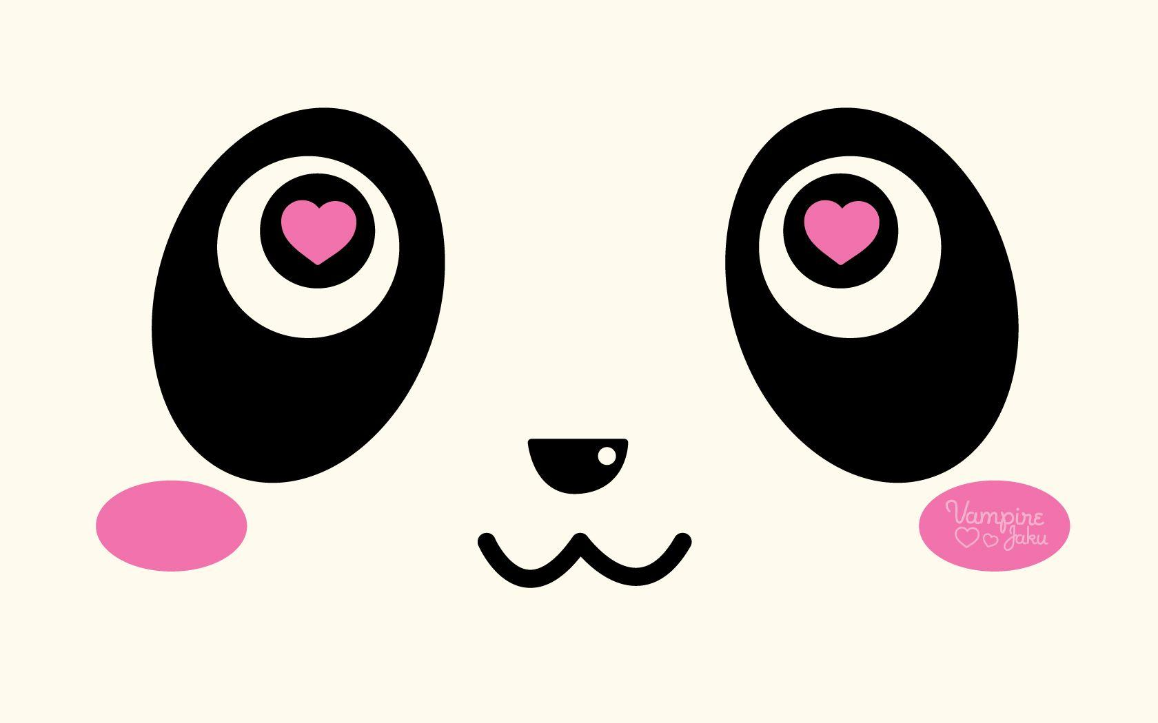 Kawaii Panda Wallpapers Wallpaper Cave