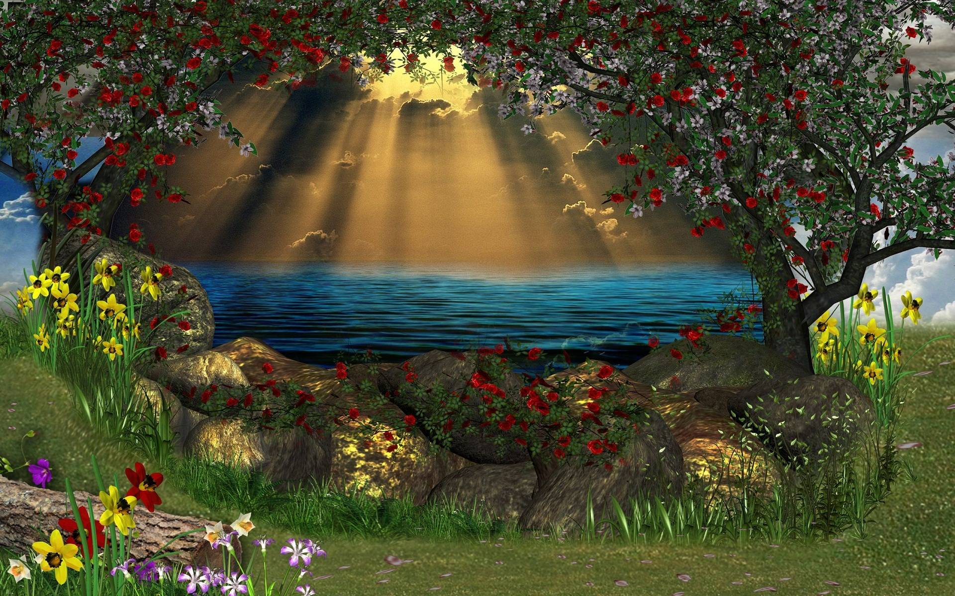 3d Nature Wallpapers Animation - Wallpaper Cave
