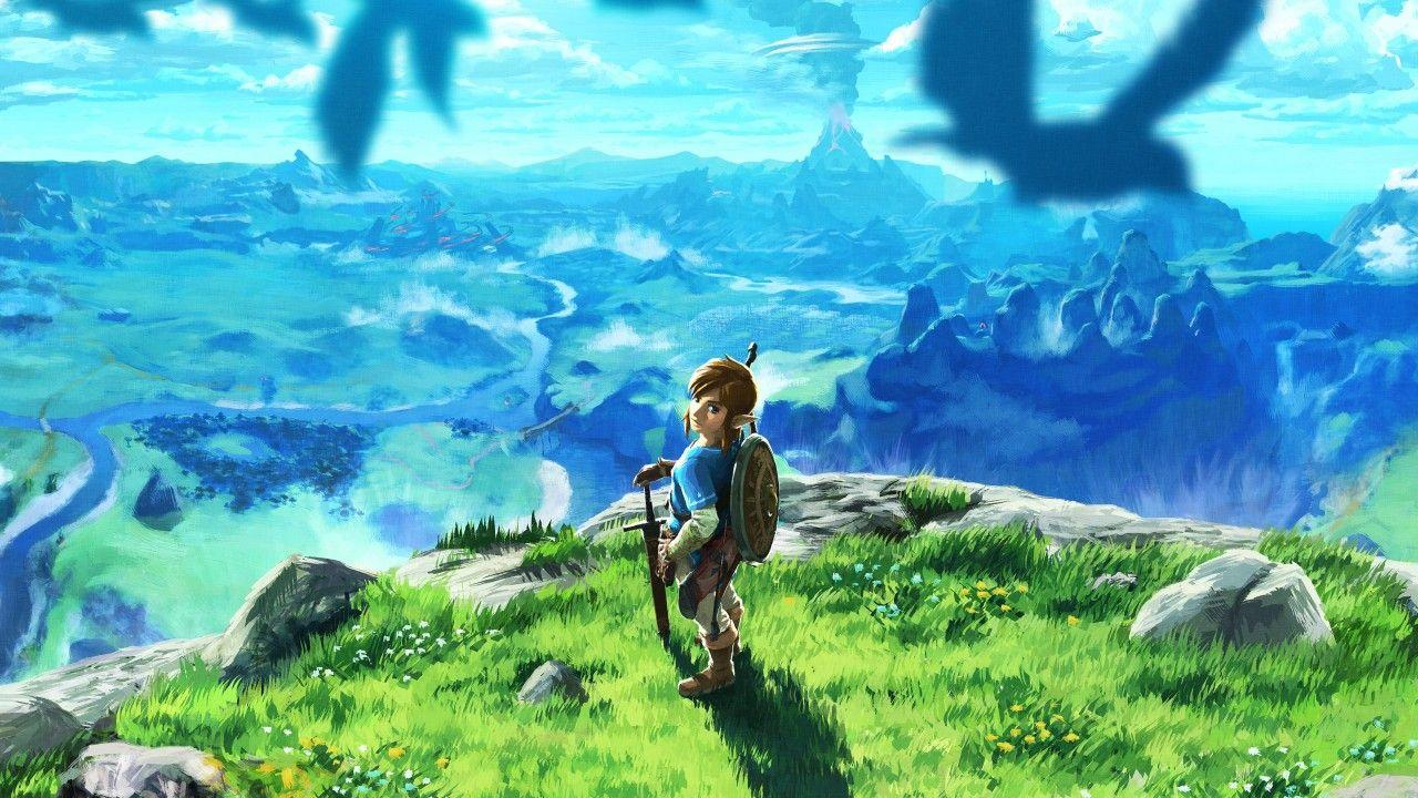 Wallpapers The Legend of Zelda: Breath of the Wild, 2017, 4K, Games