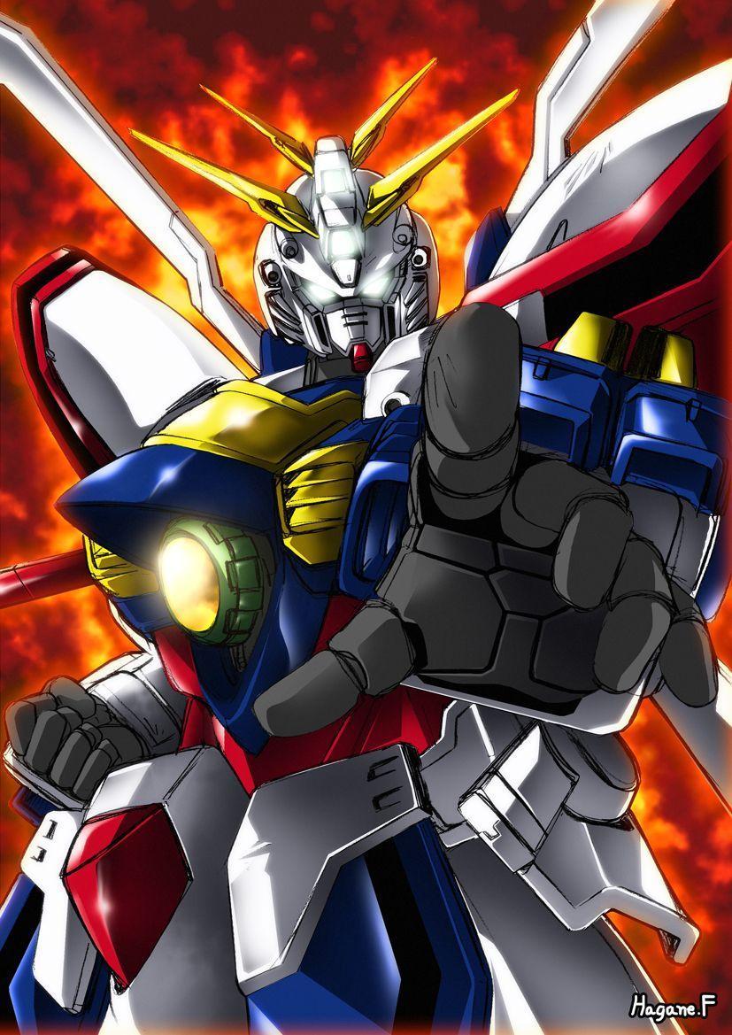 15+ God Gundam Ost Illustration