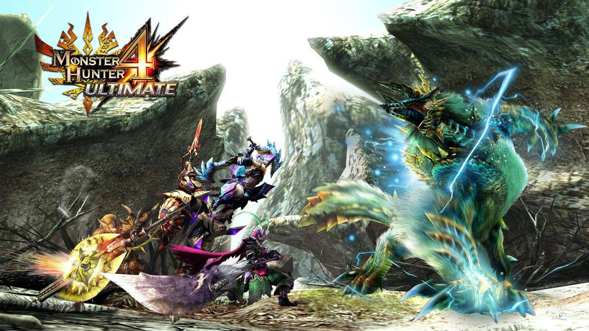 Monster Hunter 3 Ultimate Wallpapers 1920x1080 Wallpaper Cave