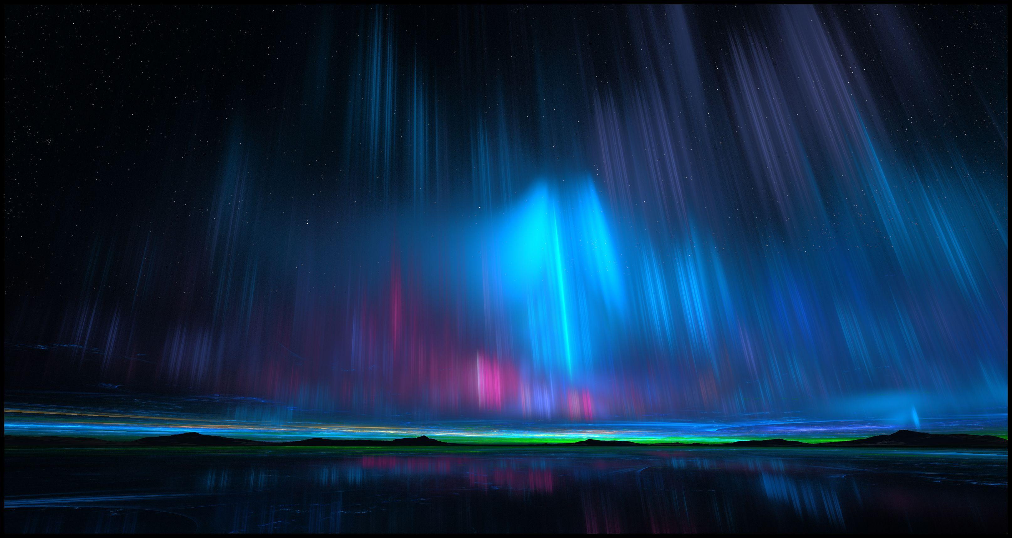 aurora - HD1366×768