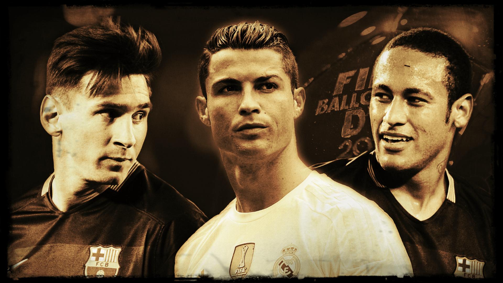 Messi Ronaldo Neymar Wallpapers Wallpaper Cave