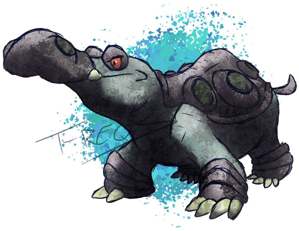Hippowdon by T