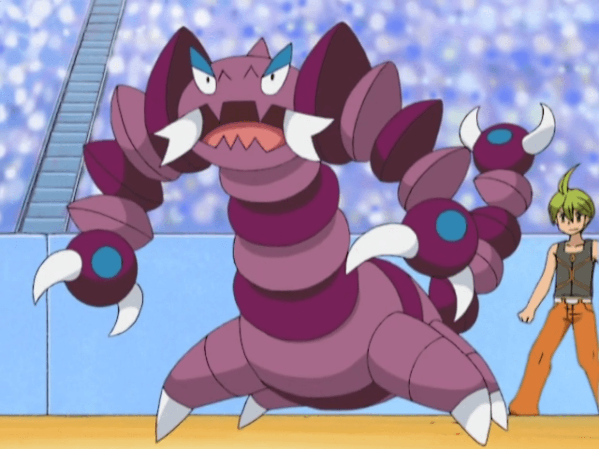Image - Aaron Drapion anime.png | Pokémon Wiki | FANDOM powered by Wikia
