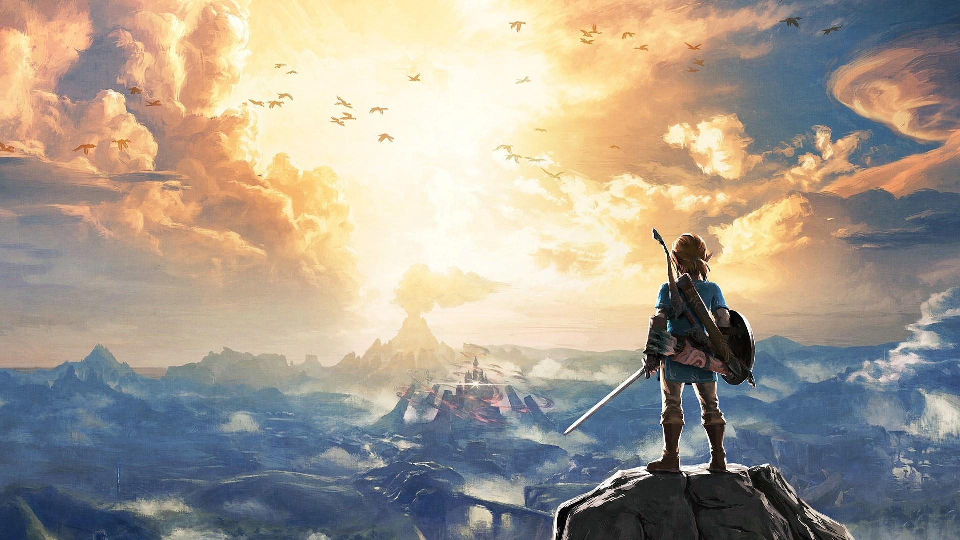 Wallpaper Link Game Nintendo The Legend Of Zelda Breath Of The