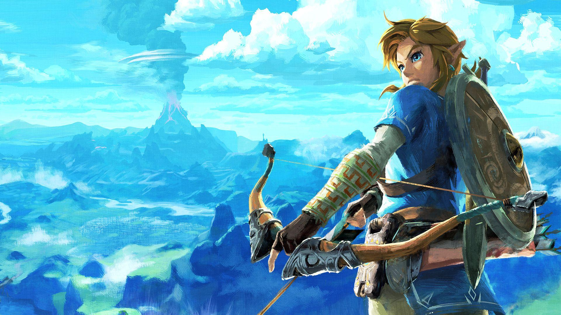 The Legend Of Zelda Breath Of The Wild Hd Wallpapers