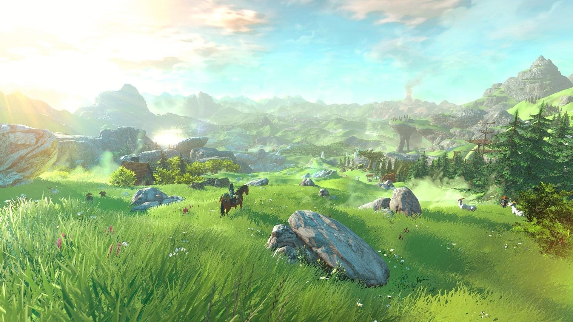 Legend of Zelda Breath of the Wild wallpapers ·① Download free HD